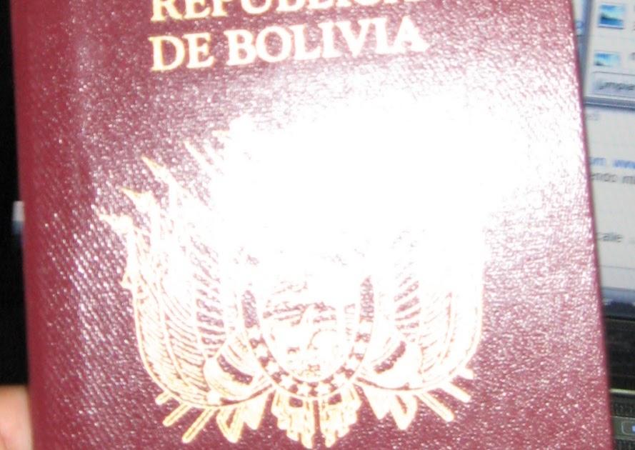 Cómo obtener el pasaporte en Bolivia