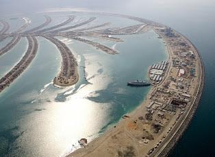 Palm Deira of Dubai | pulau buatan