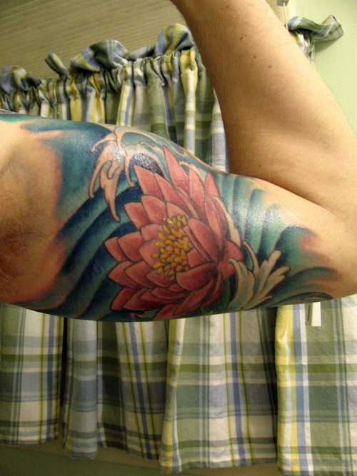 Have you been considering getting a half sleeve tattoo designs