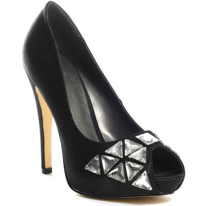 JLo Shoes Darcey Heel - Black