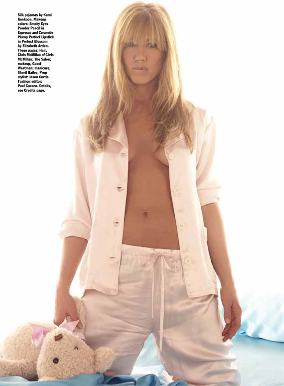 Jennifer Aniston Bares Chest, Talks Body In Allure (PHOTOS)