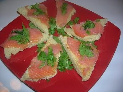 La cucina di alice tartine rucola e salmone - Cucina di alice ...