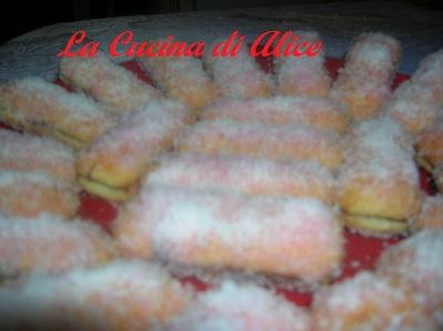 La cucina di alice pavesini cocco e nutella rossi - La cucina di alice ...