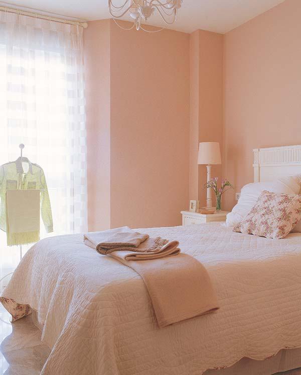 Arquitetura do im vel quartos de casal com detalhes de - Colores pared dormitorio ...