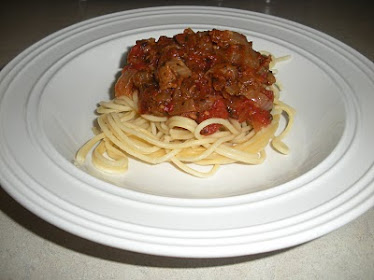 Sausage Spaghetti (Source: Betty Crocker)