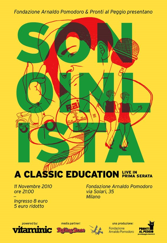 Non esistono pi i lettori cd figurati l 39 amore pronti per for Fondazione arnaldo pomodoro