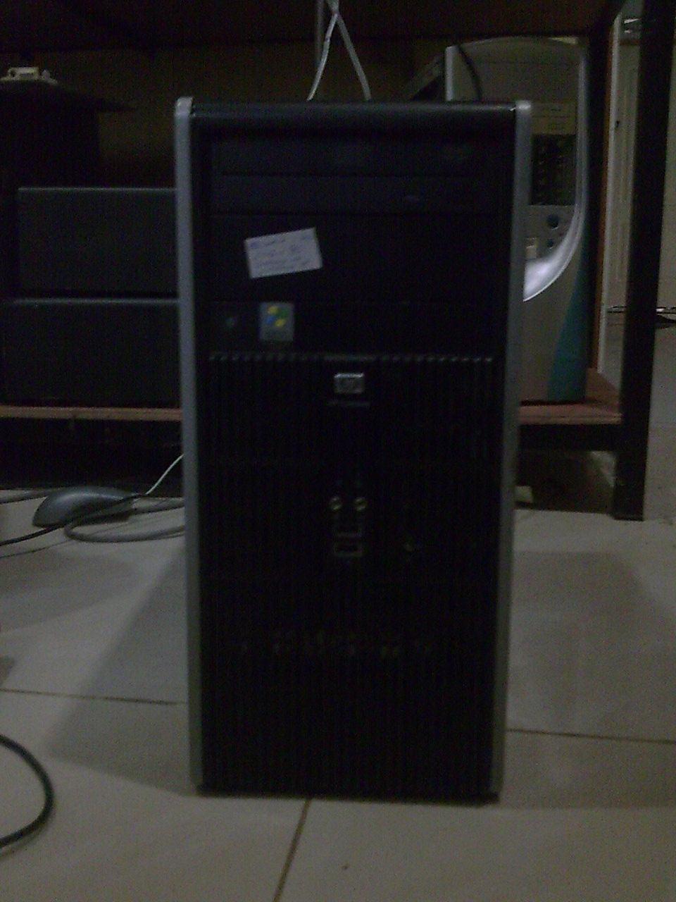 Cpu core 2 duo untuk di jual HP compaq dc5700 murah