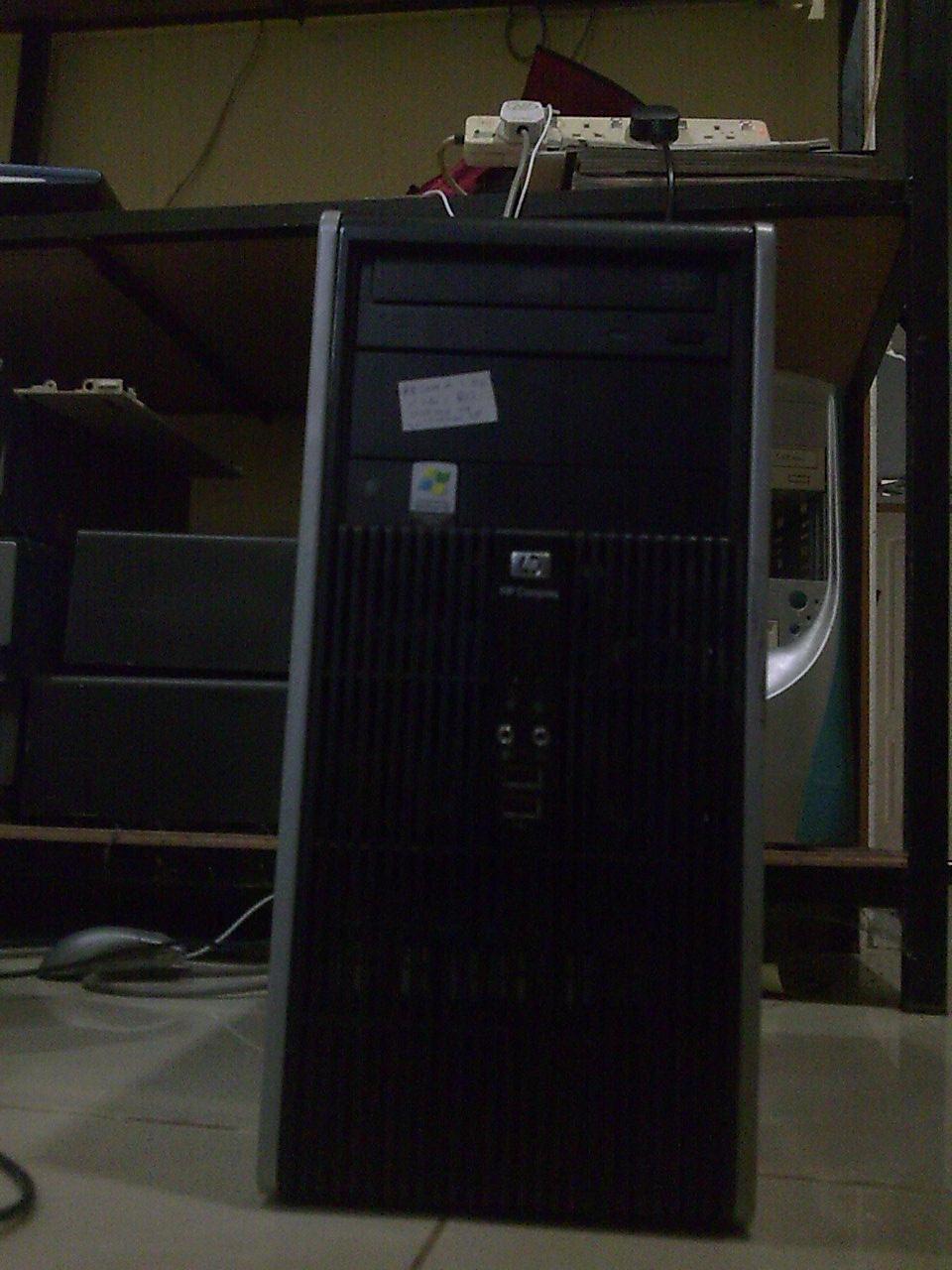 Cpu dual core untuk di jual HP compaq dc5700 murah