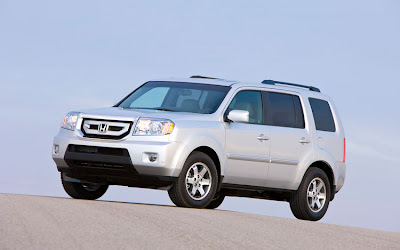The New 2008 Honda Pilot Is All Around Bigger, Length, Width, Height,  Track, Everything. New For 2009 Will Be That Every Trim Level Will Get The  Heavy Duty ...
