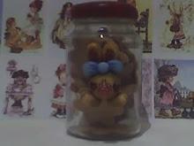 Potes de biscoitos