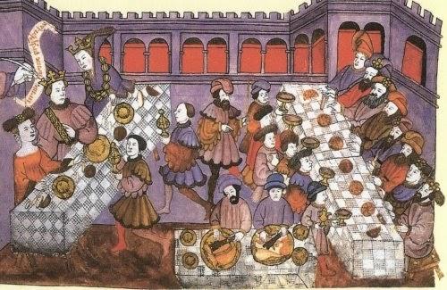 Paseando por la Historia: Gastronomía en la Edad Media