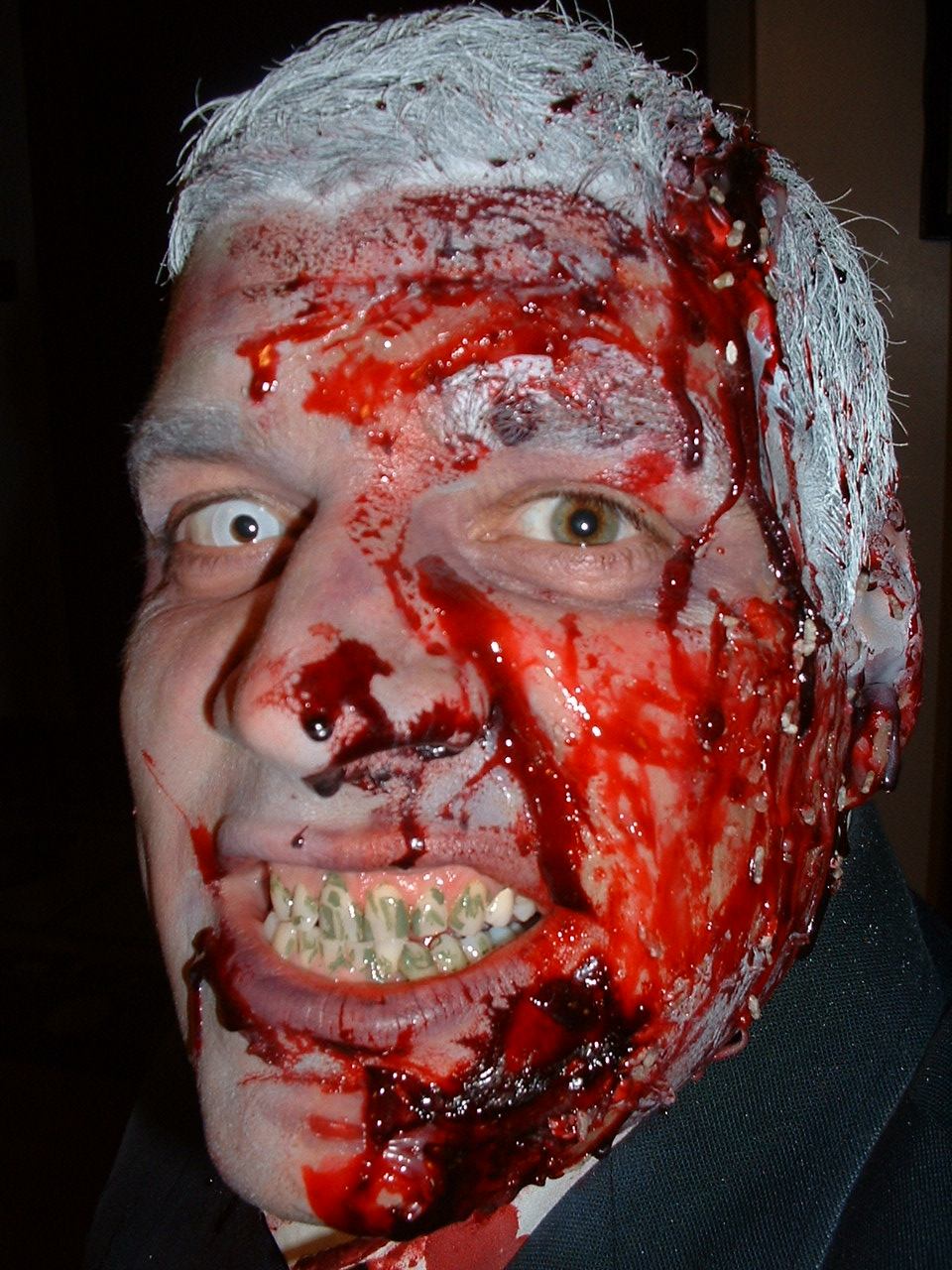 Bloody Mary Zombie Make Up Contest Winners