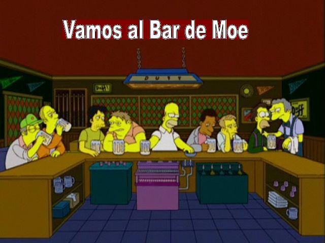 Nos llaman del Bar de Moe