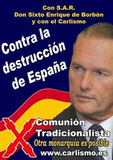 SAR Don Sixto Enrique de Borbón