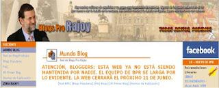 Blogs antes conocidos como pro-Rajoy