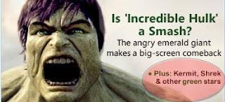 Hulk, Gustavo y otras estrellas verdes
