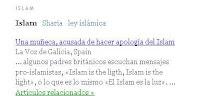 La muñeca diábolico-yihadista se dirige al portal