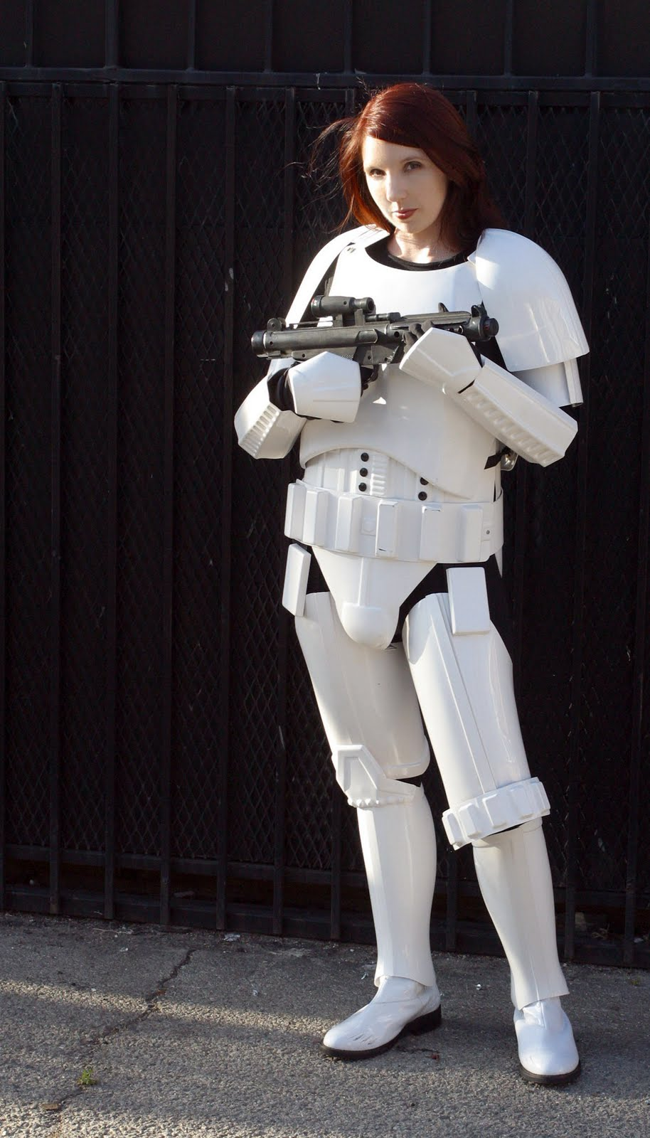 & geek with curves: When Someone Hands you Stormtrooper Armor