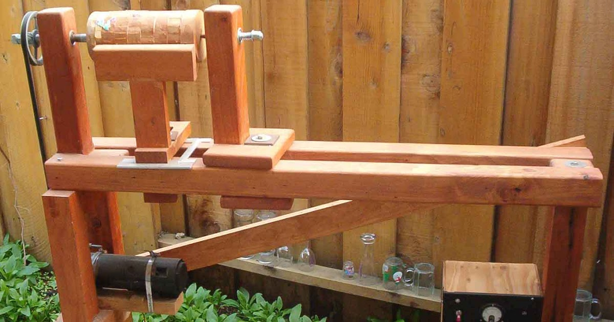 Going S On Of Otto Pastimes Home Made Wood Lathe Or A Diy Turning Machine