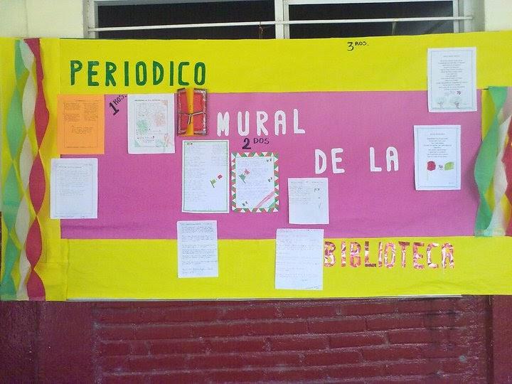 Periodico mural y sus partes for Concepto de periodico mural