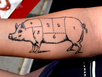Nor did I ink the tattoo. I just think it's cool. Posted by kc food guy