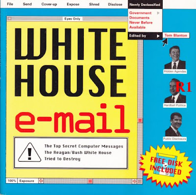 WHITE HOUSE E-MAIL, National Security Archive (pub. 1995)