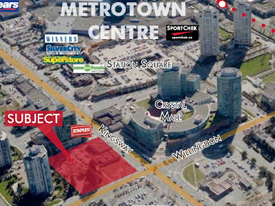 The SOVEREIGN - located in Metrotown Centre