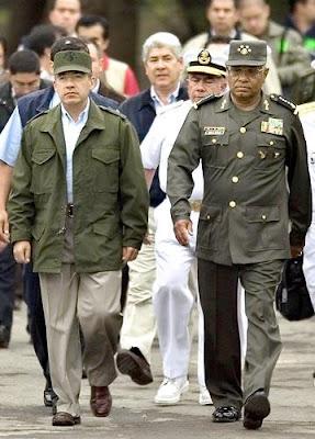 Mexican President Felipe Calderon - not a hero