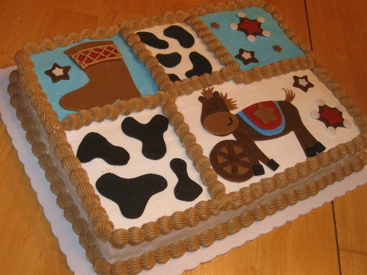 cakes by becky little cowboy baby shower cake