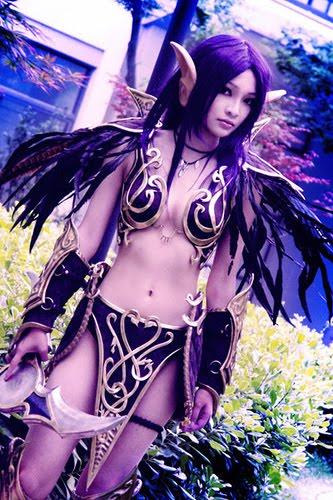 Les plus beaux cosplay (tout thème) Elfe+de+la+nuit