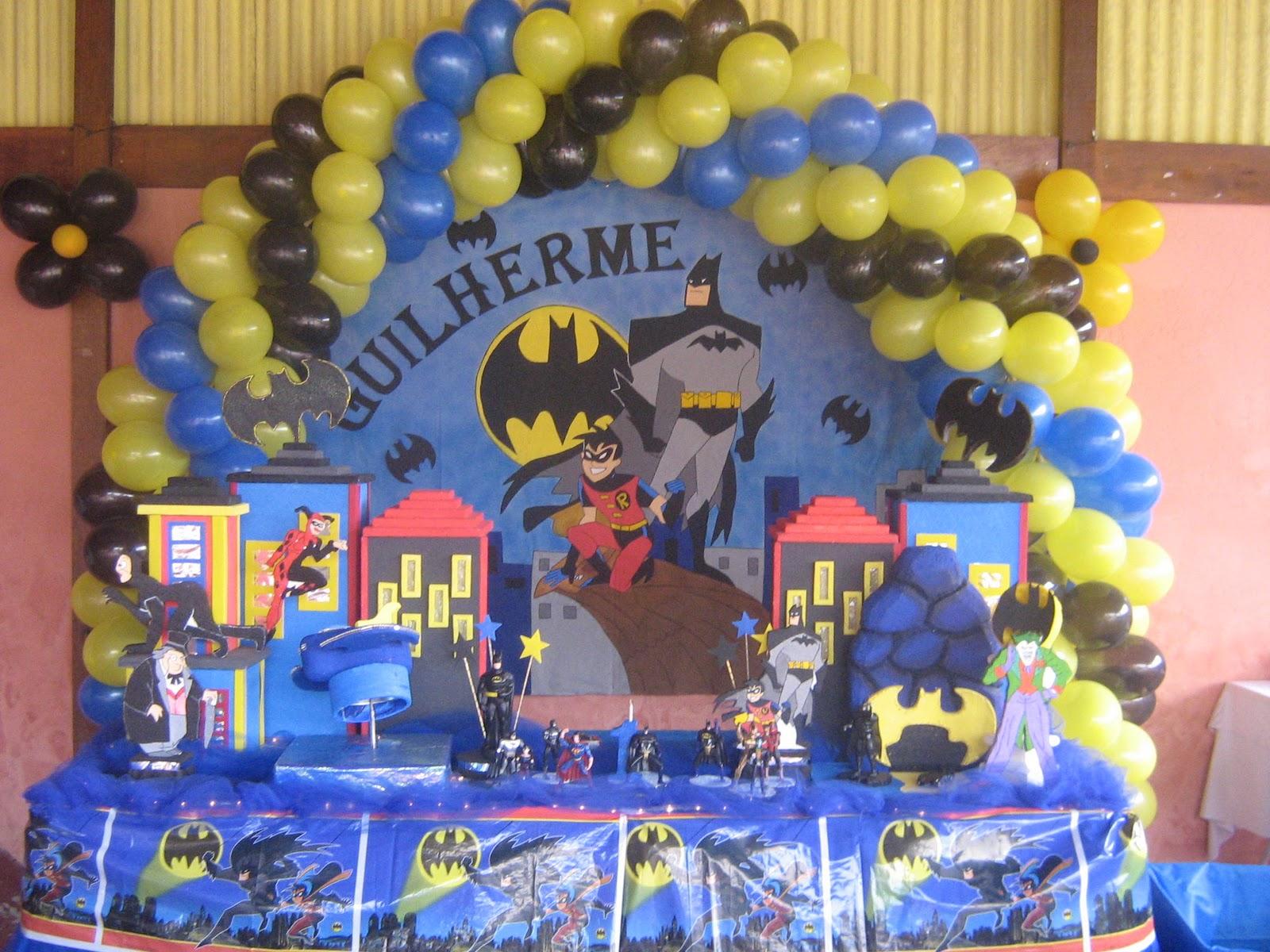 decoracao festa batman:ART Recordações – Decoração de festa e lembrancinhas: BATMAN