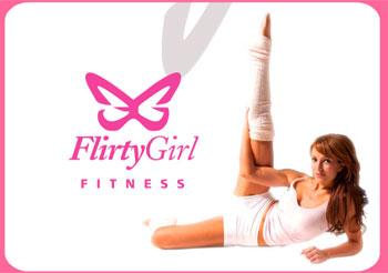 Flirty girl fitness pole good