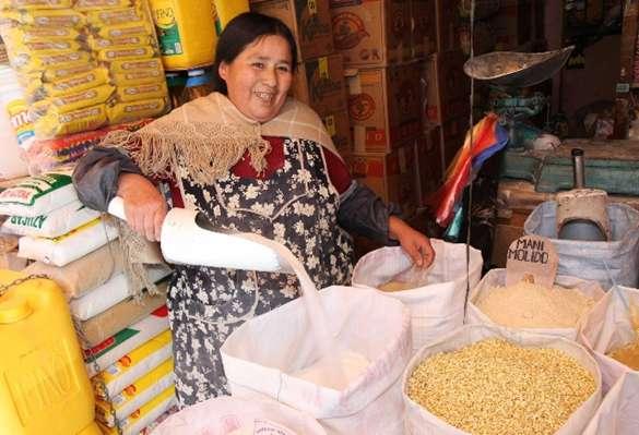 Comercio en La Paz