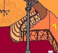 L'escala del Veí vista per la Carme Rosanas