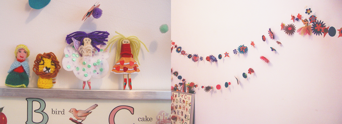 New on the blog 5 easy ways to decorate your daughter 39 s for Handmade things for room