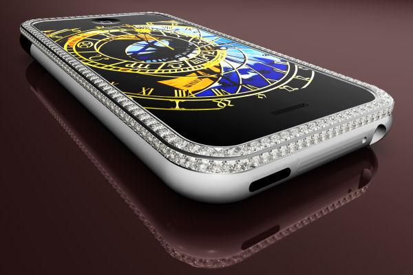 diamond encrusted iphone - photo #13