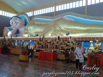 Reclining Buddha @ Penang