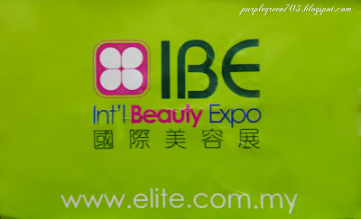 International Beauty Expo Malaysia sticker