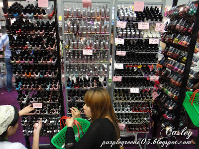 latest trendy nail polish at beauty expo malaysia KLCC