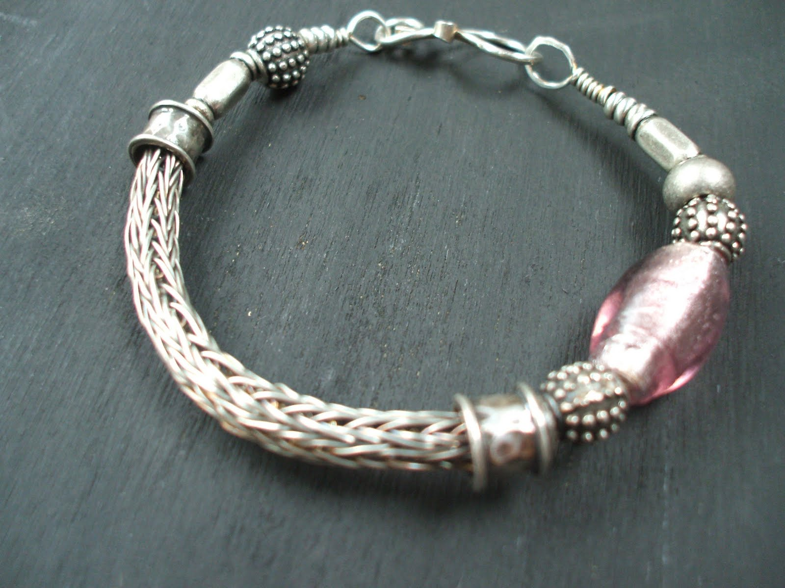 How to make viking knit chain « Jewellerymaker