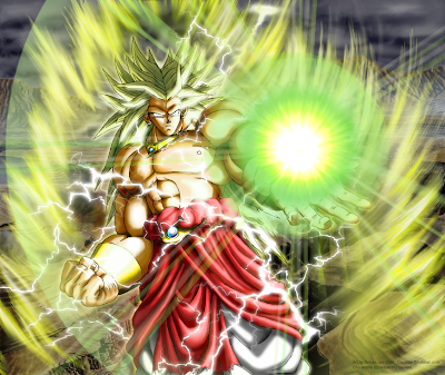 Super Saiyan Sprites. Legendary Super Saiyan )