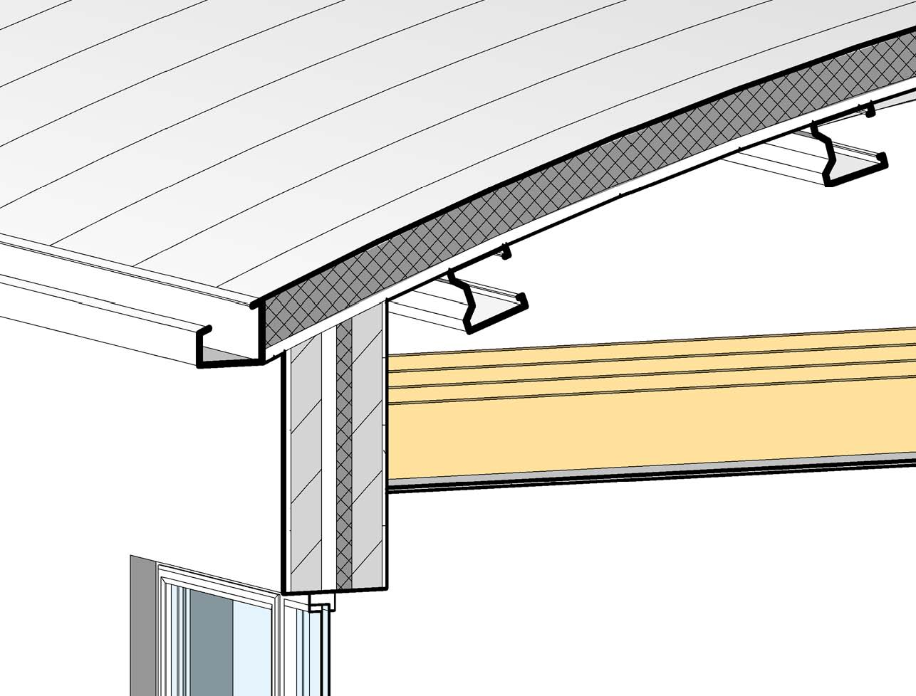 Revit Detail: 04.1 - Curved Roof Detail - Analysis