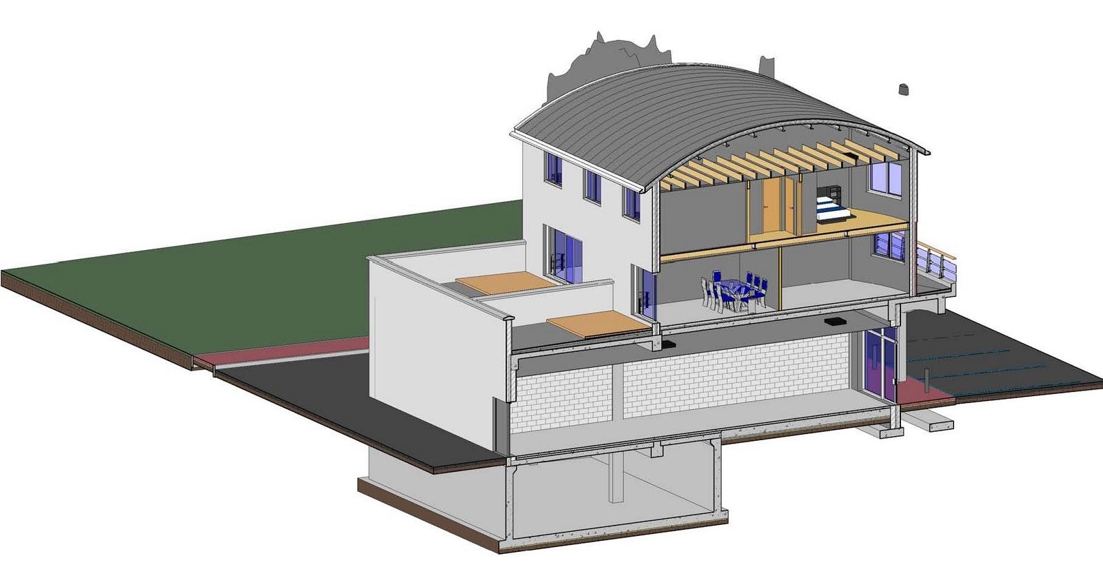 Revit detail 08 1 revision to a project part 1 for Revit architecture modern house design 8