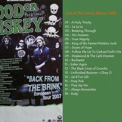 irish punk folk band from