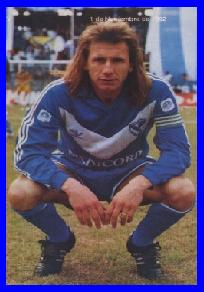 Ricardo Gareca como jugador en 1992