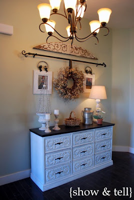{carved dresser for sale} - SOLD!!!!