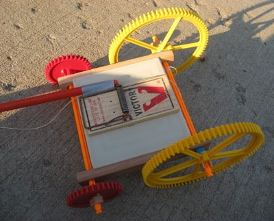 Mouse Trap Car. Ilona#39;s Mouse Trap Car