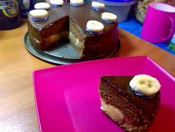 Choc Banana Cake