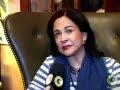 Maria Elvira - Presidente Nacional do PMDB Mulhert é entrevistada em Nova York
