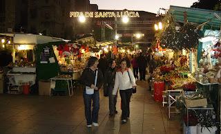 Kerstmis Barcelona